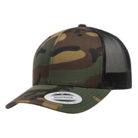 Кепка FlexFit Trucker Green Camo