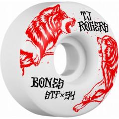 Колёса Bones (STF V3) SS19 - TJ Rogers Survival 54 mm