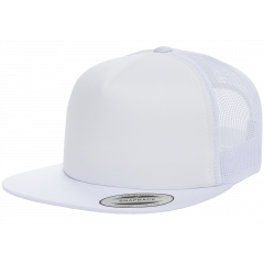 Кепка FlexFit 6005FF Trucker White