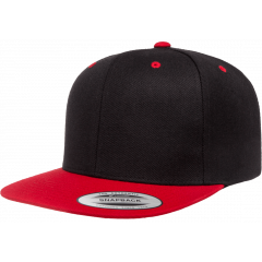 Кепка FlexFit 6089MT - Classic Snapback Black/Red