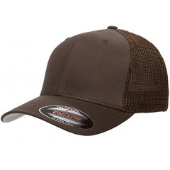 Кепка FlexFit Trucker Mesh Brown