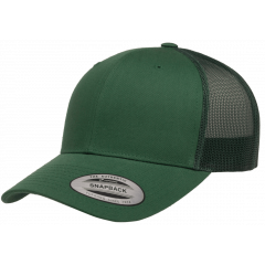 Кепка FlexFit 6606 Retro Trucker - Evergreen