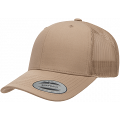 Кепка FlexFit 6606 Retro Trucker - Khaki