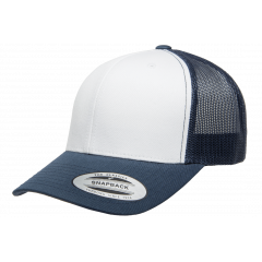 Кепка FlexFit 6606W Retro Trucker - Navy/White/Navy