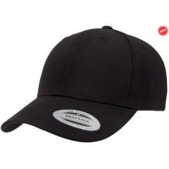 Кепка FlexFit Curved Visor Snapback Black