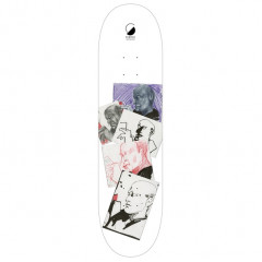 "Дека Furtive Skateboards ""Sketch White"" 8.125x32"