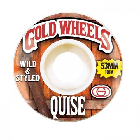Колеса Gold Wheels Quise Woods 53mm 101A