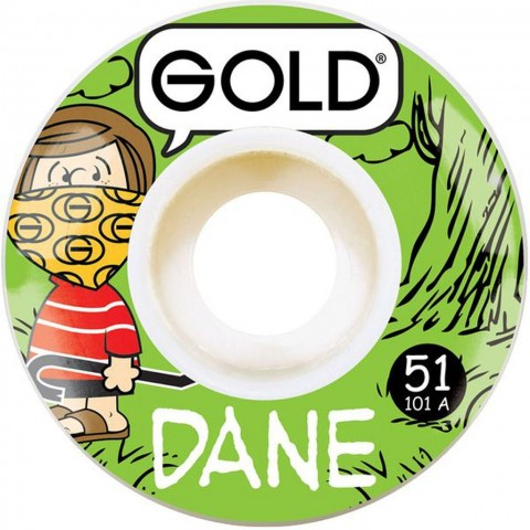 Колеса GOLD WHEELS DANE VAUGHN GANG WHEELS 51mm 101A
