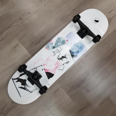 "Скейтборд Furtive ""SKETCH WHITE"" 8.125x32"