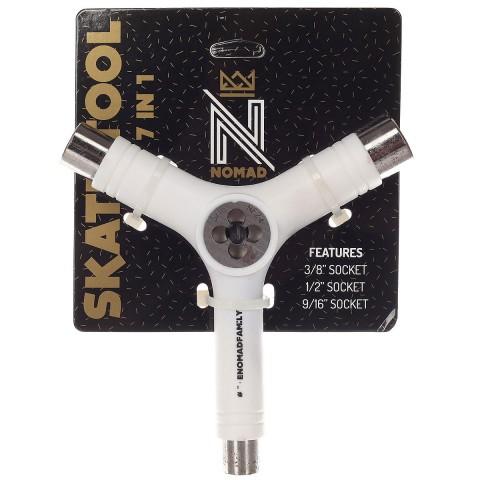 Ключ для скейтборда NOMAD Y-TOOL WHITE