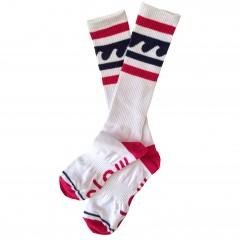 Носки женские Claw Wave white/red/blue