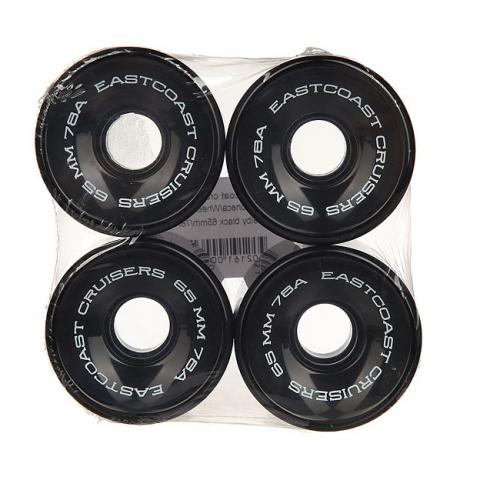 Колеса для скейтборда Eastcoast Black 65mm