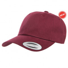 Кепка FlexFit Dad Maroon