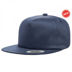 Кепка FlexFit Unstructured 5-Panel Snapback Navy