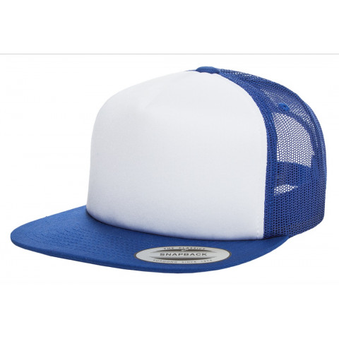 Кепка FlexFit Trucker Royal/White/Royal