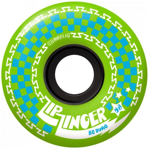 Колеса Krooked Zip Zinger Green 80D
