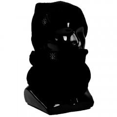 Набор #1 Шапка + шарф LES (Чёрный)