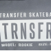 Чехол для скейтборда Transfer Rookie Grey