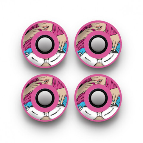 Колеса Footwork Show Me Pink 65mm 78A